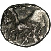 Allobroges, region of Dauphiné, Denarius au cervidé
