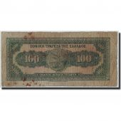 Greece, 100 Drachmai, 1927, KM:91a, 1927-06-14, VG(8-10)