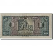 Greece, 1000 Drachmai, 1926, KM:100b, 1926-11-04, VF(30-35)