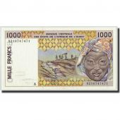 West African States, Cote dIvoire, 1000 Francs, 1992, KM:111Ab, NEUF