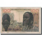 West African States, Burkina Faso, 100 Francs, 1965, KM:301Ce, 1965-03-02, TB+