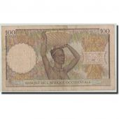 French West Africa, 100 Francs, 1936, KM:23, 1936-11-17, VF(20-25)