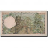 French West Africa, 1000 Francs, 1954, 1954-10-28, KM:42, TTB+