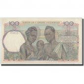 French West Africa, 100 Francs, 1950, 1950-04-26, KM:40, UNC(63)