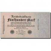 Germany, 500 Mark, 1922, KM:74b, 1922-07-07, AU(55-58)