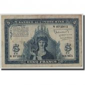 New Caledonia, 5 Francs, Undated (1944), KM:48, F(12-15)