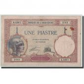 FRENCH INDO-CHINA, 1 Piastre, Undated (1927-31), KM:48b, TB+