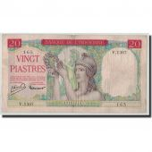 FRENCH INDO-CHINA, 20 Piastres, Undated (1949), KM:81a, TB+