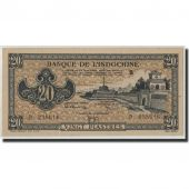FRENCH INDO-CHINA, 20 Piastres, Undated (1942-45), KM:65, SPL