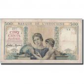 FRENCH INDO-CHINA, 500 Piastres, Undated (1939), KM:57, TB+