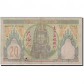 FRENCH INDO-CHINA, 20 Piastres, Undated (1928-31), KM:50, B+