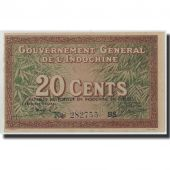 FRENCH INDO-CHINA, 20 Cents, Undated (1939), KM:86d, SPL