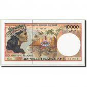 French Pacific Territories, 10,000 Francs, Undated (1985), KM:4d, NEUF