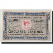 France, Troyes, 50 Centimes, UNC(63), Pirot:124-13