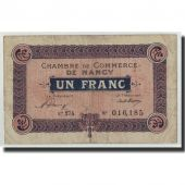 France, Nancy, 1 Franc, 1921, F(12-15), Pirot:87-49