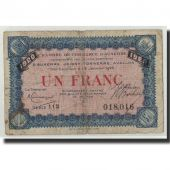 France, Auxerre, 1 Franc, 1920, B, Pirot:17-22