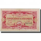 France, Bordeaux, 50 Centimes, 1920, TTB, Pirot:30-24