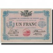 France, Vienne, 1 Franc, 1916, SUP, Pirot:128.12