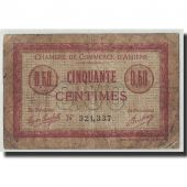 France, Amiens, 50 Centimes, 1915, VG(8-10), Pirot:7-20