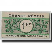 France, Reims, 1 Franc, 1914, AU(55-58), Pirot:51-45
