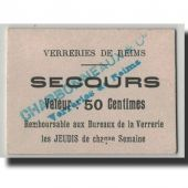 France, Reims, 50 Centimes, SUP, Pirot:51-37