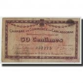 France, Carcassonne, 50 Centimes, 1914, B, Pirot:38-1