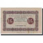 France, Nancy, 1 Franc, 1915, EF(40-45), Pirot:87-3