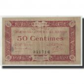 France, Aveyron, 50 Centimes, 1915, TB, Pirot:108-1