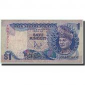 Malaysie, 1 Ringgit, Undated (1981-1983), KM:19a, B+