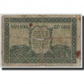FRENCH INDO-CHINA, 50 Cents, Undated (1942), KM:91a, AB+