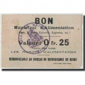 France, Reims, 25 Centimes, TB, Pirot:51-29