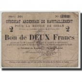 France, Sedan, 2 Francs, 1916, F(12-15), Pirot:08-284