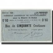 France, Sedan, 50 Centimes, 1916, TB, Pirot:08-282