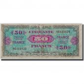 France, 50 Francs Verso France, 1944, KM:122a, Fay:VF 24.1, B+