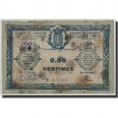 France, Saint-Omer, 50 Centimes, 1914, VF(20-25), Pirot:115-1