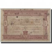 France, Angers, 1 Franc, 1915, TB, Pirot:8-1