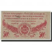 France, Blois, 50 Centimes, 1916, SUP, Pirot:28-5