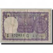 Banknote, India, 1 Rupee, 1975, KM:77p, VG(8-10)