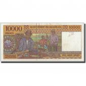 Billet, Madagascar, 10,000 Francs = 2000 Ariary, Undated (1995), KM:79b, SUP