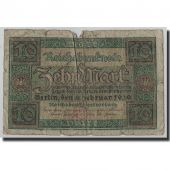Banknote, Germany, 10 Mark, 1920, 1920-02-06, KM:67a, G(4-6)