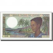 Billet, Comoros, 1000 Francs, Undated (1994), KM:11b, NEUF