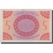 Banknote, French Equatorial Africa, 5 Francs, L.1944, KM:15C, UNC(63)
