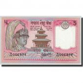 Banknote, Nepal, 5 Rupees, 1987, KM:30a, UNC(65-70)