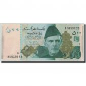 Banknote, Pakistan, 500 Rupees, 2009, KM:New, UNC(65-70)
