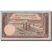 Banknote, Pakistan, 10 Rupees, Undated (1951), KM:13, VF(20-25)