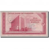 Banknote, Pakistan, 500 Rupees, Undated (1964), KM:19a, VF(30-35)