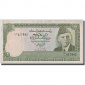 Billet, Pakistan, 10 Rupees, Undated (1981-82), KM:34, TB+