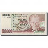 Banknote, Turkey, 100,000 Lira, L.1970, KM:206, UNC(63)