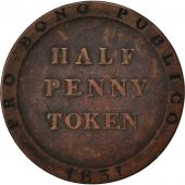 Île de Man, William IV, 1/2 Penny