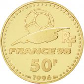Vème République, 50 Francs Or, Coupe du monde 1998, Idéal du football